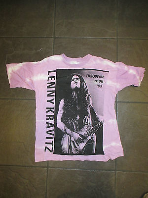 Very rare European Lenny Kravitz Are you gonna go my way tour T shirt 1993