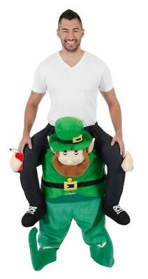 Adult Funny Holiday St. Patrick's Day Piggyback Ride On Lucky Leprechaun Costume