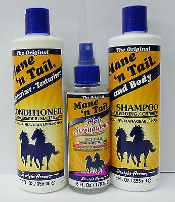 THE ORIGINAL MANE n TAIL SHAMPOO,CONDITIONER & STRENGTHENER **SPECIAL OFFER**