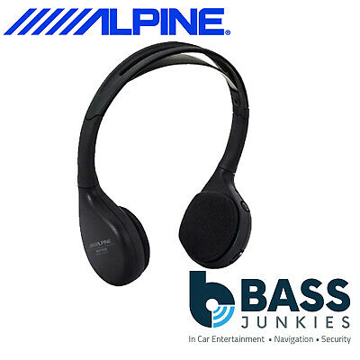 Alpine SHS-N206 Dual Source Infra Red Fold Flat Wireless Headphones