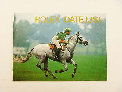 ROLEX DATEJUST Watch Instruction Booklet Manual ENGLISH 1989-1999: FREE SHIPPING