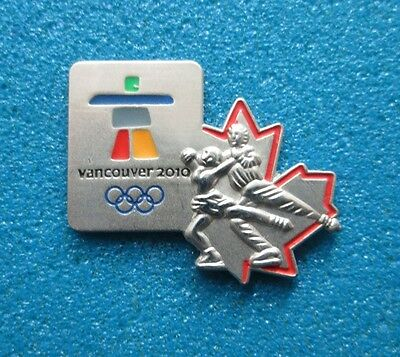 Figure Skating Vancouver 2010 Olympic Paralympic Winter Games  Pin # Ol- 15