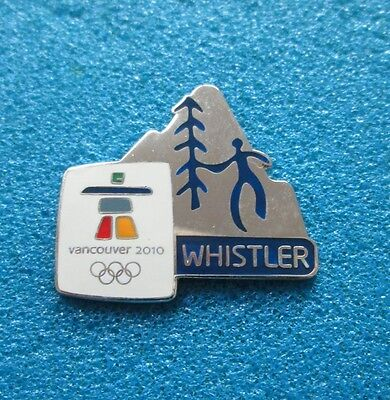 Whistler  Vancouver 2010 Olympic Paralympic Winter Games  Pin # Ol- 225