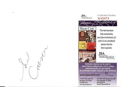 Sid Caesar (Deceased) Signed Postcard Jsa Authenticated  #45474