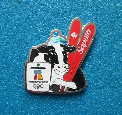 Saputo Vancouver  2010 Olympic Paralympic Winter Games  Pin # Ol-4