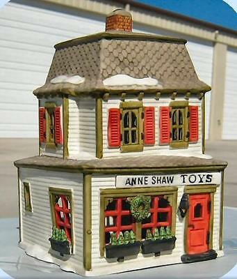 Dept 56 New England Village Ann Shaw Toys Store Shop ~ MINT in Box!