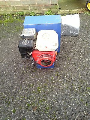 Petrol blower for bouncy castle