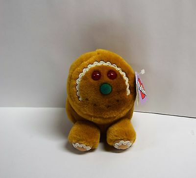 Puffkins Collection Gingerbread Bean Plush Spice Limited Edition Swibco New Tags