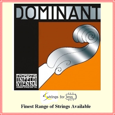 Thomastik-Infeld 129 Dominant Violin Single E String  1/2 Size Chrome Ball End