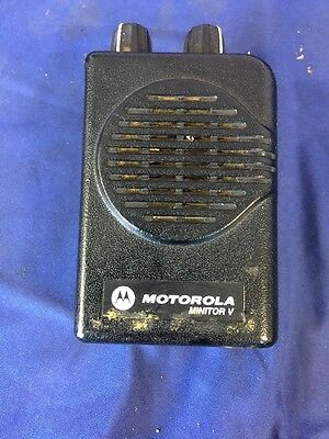 Motorola Minitor V (5) Low Band 33-36.995MHz 1CH NSV Pager A01KMS9238BC