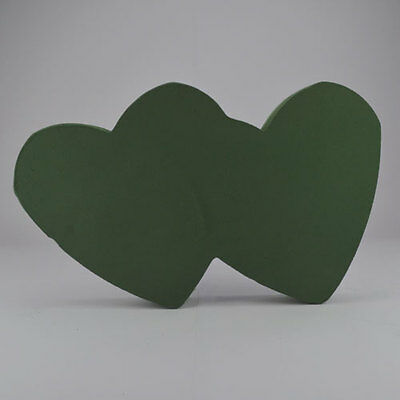 Floral Foam Double Solid Heart In 3 Sizes Funeral Memorial Tribute Oasis Type