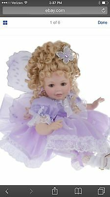 Marie Osmond TRANQUILITY Doll Ltd Ed 3000 Butterfly.