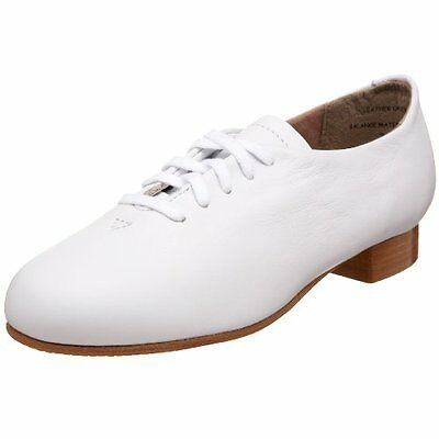 Capezio Adult White Full Sole Clogging Shoes