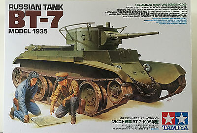 Tamiya 35309 Russian Tank BT-7 Model 1935 1/35 Model Kit NIB