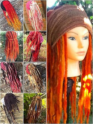 aYa Commissioned Order Dreadlock Wig 78 Wool Hair Dreads Cosplay Chemo Alopecia