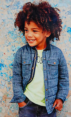♡ Next ♡ BNWT Boys Denim ☆ Quilted Shacket Jacket ☆ Shirt ☆ 3 years 2-3 years