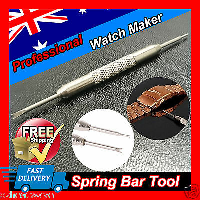 2x Spring Bar Tool Watch Band Strap Link Pin Remover Repair Stainless Steel