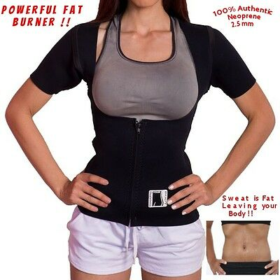 Neosport woman neoprene 2.5mm 100% Authentic Sauna Weight Loss Vest with sleeves
