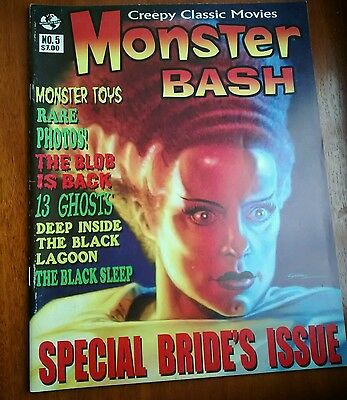 MONSTER BASH MAGAZINE #5 Special Bride's Issue EX CONDITION AS NEW