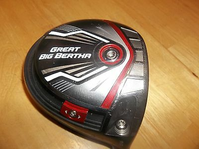 Callaway Great Big Bertha Driver Head Only 9 Degree