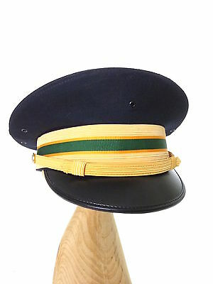 Military Kingform US Army MP Officer Company Grade Dress Blue Cap Hat 7 1/4 EUC