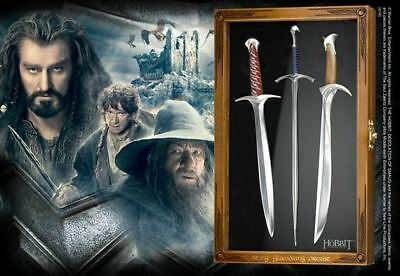 The Hobbit : LETTER OPENER SET SWORDS From The Noble Collection NN1210