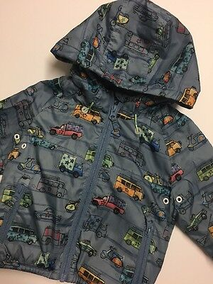 Baby Boys NEXT Printed Raincoat Age 18-24 Months 1,5-2 Years