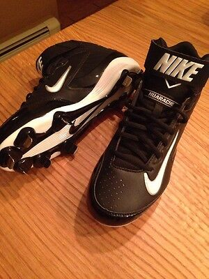 Brand New Nike Huarache Strike Mid Metal Baseball Cleats Men's Size 8.5