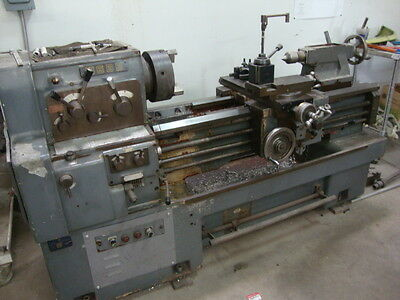 Webb Model WL-435 17x40 Gap bed engine lathe with Collet Closer & Tooling