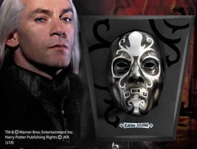 Harry Potter : LUCIUS MALFOY DEATH EATER MASK From The Noble Collection NOB7118