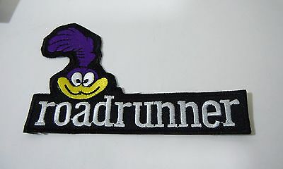 "Roadrunner Embroidered Iron-On Patch - 4 1/2"" Strip- Looney Tunes"