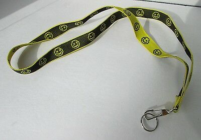 Smiley Face Lanyard Id Holder