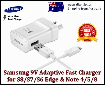 New Samsung Galaxy Adaptive Fast Car Charger S8 S9 S7 S6 Edge+,NOTE 4 5 8