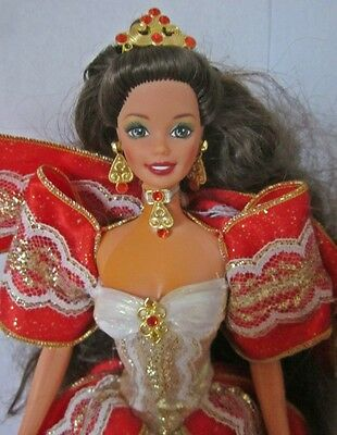 1997 Happy Holiday Christmas Barbie Complete-ish