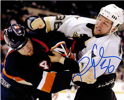 "Original 8""X10"" Autographed Photo Andre Roy Pittsburg Penguins"