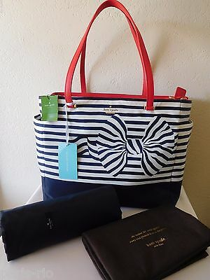 New Kate Spade Betheny Nylon Baby Bag Diaper Bag!