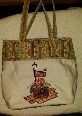 Longaberger Homestead Tote Bag Purse Handbag Great Condition