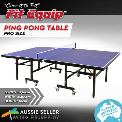 New Table Tennis Ping Pong  & Net Pro Size 19MM Top ITTF APPROVED Manufacturer
