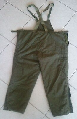 Israel IDF Army - Extreme Cold Weather Pants Overalls Snow Trousers  XXL Dubon