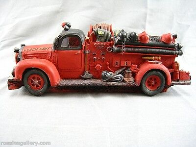 Cermaic Fire Truck-Made in China-Chipped