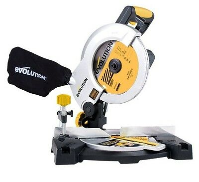 EVOLUTION CRAGE3B Construction Edition 210mm Mitre Saw