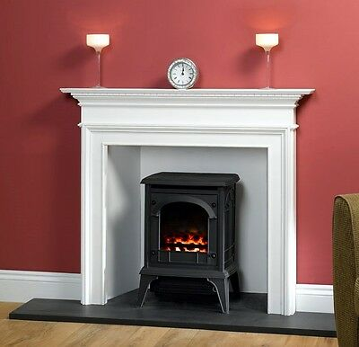 """Stove Hearth Black Granite Fireplace Base """"T"""" Shaped 30 mm thick"""