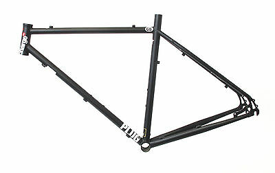 Charge Plug 5 Cyclocross Commuter Bike Bicycle Frame Black Xs-Xl New Free P&p