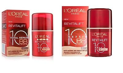 L'Oreal Revitalift Repair 10 Anti-Ageing BB Cream SPF20 # Chosse Your Shade