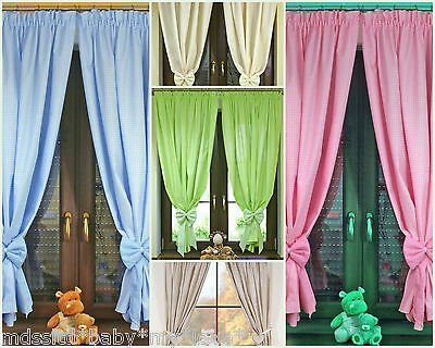Baby Nursery Decoration  / Windows Decoration WINDOW CURTAINS