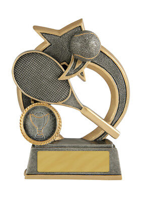 Tennis Trophy Award 120mm FREE Engraving