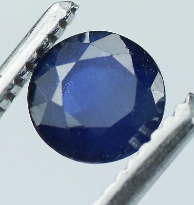 CERTIFIED  100% DIFFUSE  BEAUTIFUL  NATURAL  BLUE SAPPHIRE 1 .28 cts Top Quality