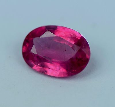 0. 81 cts natural  ruby 100% mozambique untreated  apgtl  certified