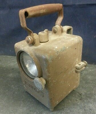 Vintage  SNCF Railway Lamp France French Industrial chic Lantern