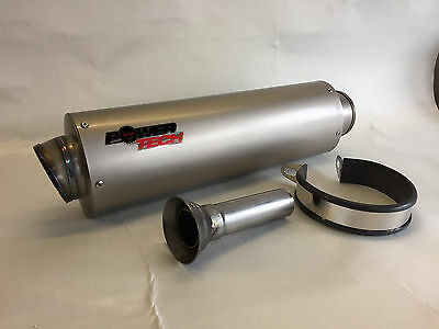 TRACK DAY CAN TO FIT AUSTIN RACING 60mm LINK PIPE EXHAUST SILENCER NEW